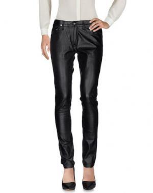 Повседневные брюки APRIL 77. Цвет: черный