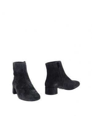 Полусапоги и высокие ботинки UNISA. Цвет: стальной серый