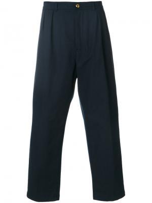 Мешковатые брюки Department 5. Цвет: синий