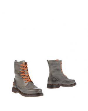 Полусапоги и высокие ботинки D'ACQUASPARTA. Цвет: серый