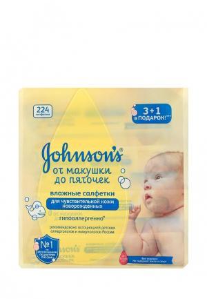 Влажные салфетки Johnson &