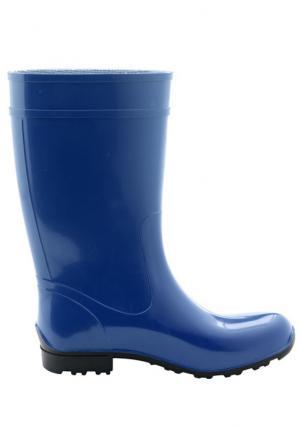 Резиновые сапоги Heine Home. Цвет: синий