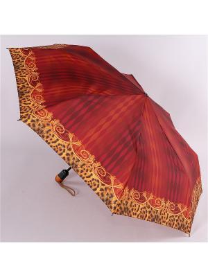 Зонт Airton. Цвет: темно-бордовый, золотистый