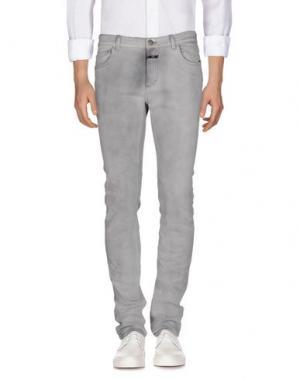 Джинсовые брюки CLOSED. Цвет: светло-серый