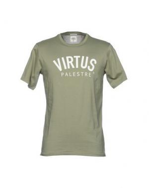 Футболка VIRTUS PALESTRE. Цвет: зеленый-милитари