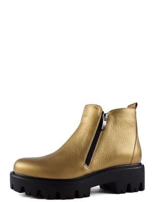 Ботинки BERG. Цвет: золотистый