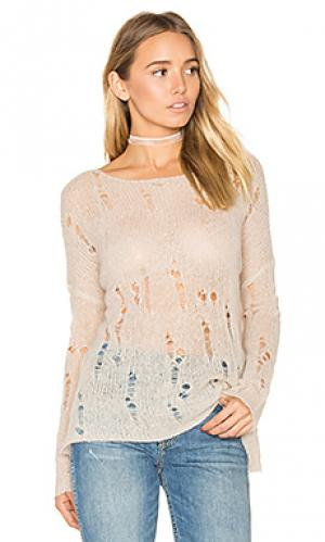 Рваный свитер nohemi 360 Sweater. Цвет: серо-коричневый