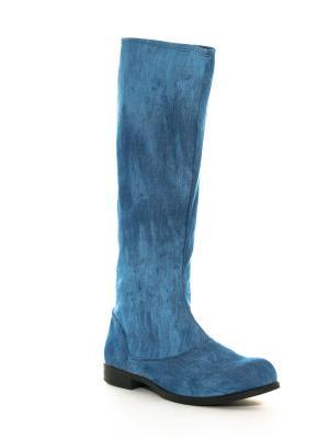 Сапоги AZ-ART. Цвет: голубой
