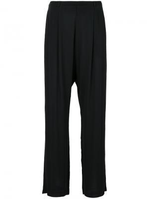 Широкие брюки Kristensen Du Nord. Цвет: чёрный