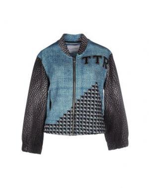 Куртка THE TEXTILE REBELS. Цвет: небесно-голубой