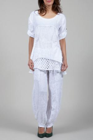 Блуза La Belle Helene. Цвет: белый