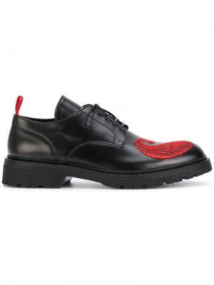 Ботинки с декорацией 424 Fairfax. Цвет: чёрный
