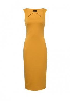 Платье 9AConcept. Цвет: желтый