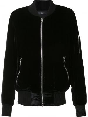 Куртка на молнии Amiri. Цвет: чёрный
