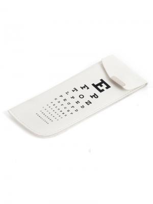 Футляр для очков Eye Test белый Balvi. Цвет: черный, белый