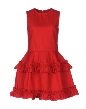 Короткое платье SIMONE ROCHA X J BRAND. Цвет: красный