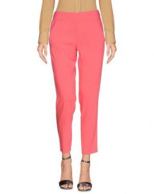 Повседневные брюки CARLA G.. Цвет: коралловый