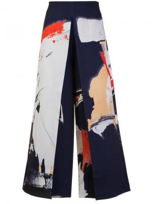 Johnson trousers Solace. Цвет: синий