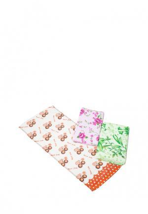 Комплект полотенец 3 шт. La Pastel. Цвет: разноцветный