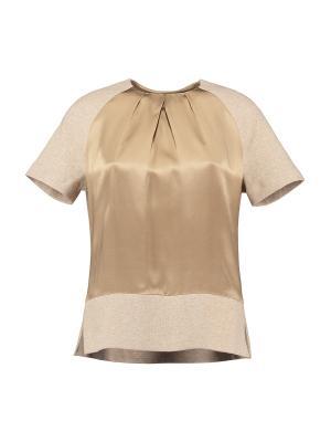 Блузка St.Emile. Цвет: бежевый