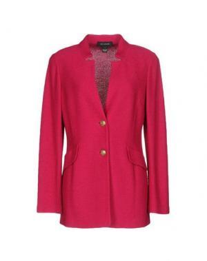Пиджак ST. JOHN. Цвет: пурпурный