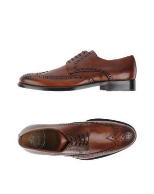 Обувь на шнурках BRAWN'S. Цвет: коричневый