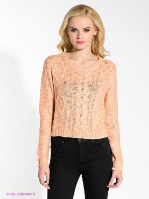 Джемпер Vero moda. Цвет: персиковый