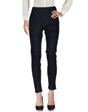 Повседневные брюки VIONNET. Цвет: стальной серый