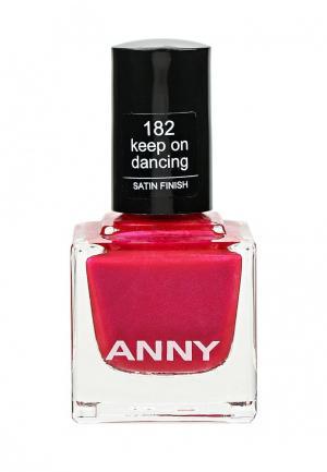 Лак для ногтей Anny. Цвет: фуксия