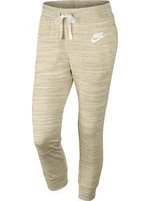 Капри W NSW GYM CLC CPRI Nike. Цвет: белый
