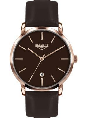 Часы 33 ELEMENT. Цвет: коричневый, золотистый