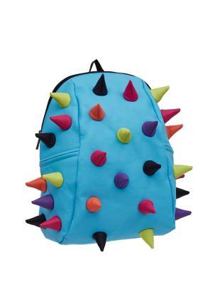 Рюкзак Rex 2 Half Whirpool, цвет голубой мульти MadPax. Цвет: голубой