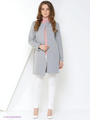Пальто A.Karina. Цвет: серый