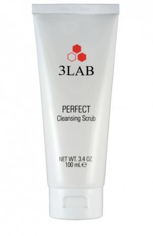 Очищающий скраб для лица 3LAB. Цвет: бесцветный