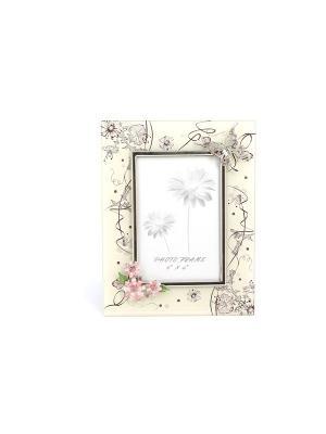 Рамка для фотографий  Сиреневые сны JARDIN D'ETE. Цвет: бледно-розовый, розовый, белый