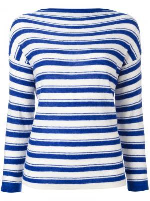 Полосатый джемпер Nalti Bellerose. Цвет: синий