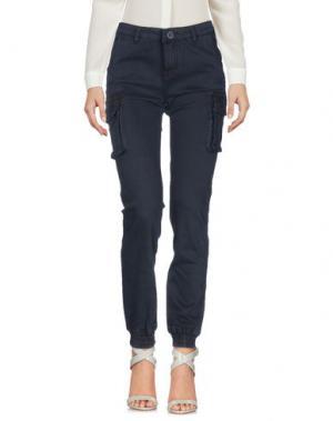 Повседневные брюки ATELIER FIXDESIGN. Цвет: темно-синий