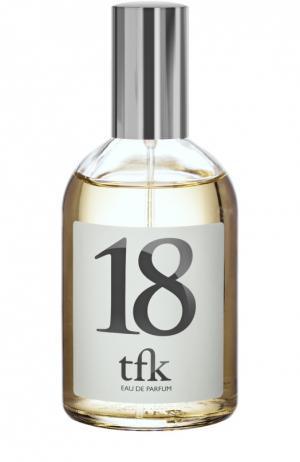 Парфюмерная вода-спрей 18 TFK The Fragrance Kitchen. Цвет: бесцветный