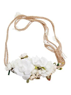 Пояс Kameo-bis. Цвет: белый, зеленый, кремовый