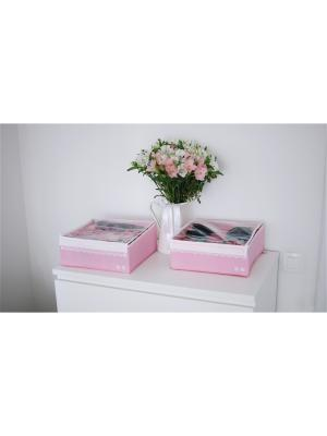 Органайзер для белья Berry Cake, 2 шт Trendyco. Цвет: розовый