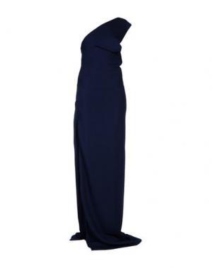 Длинное платье DSQUARED2. Цвет: темно-синий