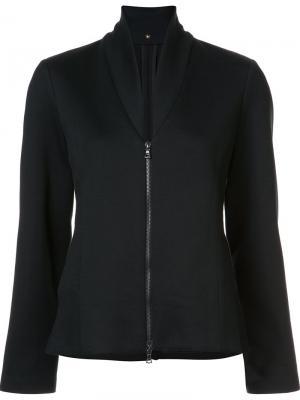 Куртка на молнии Peter Cohen. Цвет: чёрный