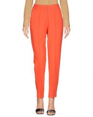 Повседневные брюки MINIMUM. Цвет: красный