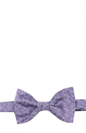 Галстук-бабочка Lanvin. Цвет: фиолетовый