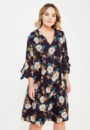 Платье Dorothy Perkins Curve. Цвет: черный