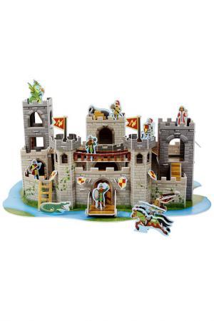 3D Пазл Рыцарский замок Melissa & Doug. Цвет: серый, белый
