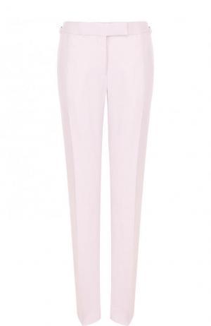 Однотонные брюки со стрелками Tom Ford. Цвет: розовый