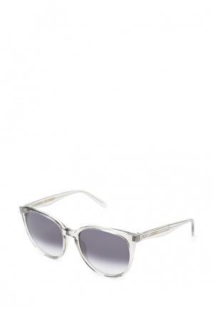 Очки солнцезащитные Celine. Цвет: белый