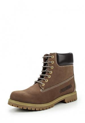 Ботинки Canguro. Цвет: коричневый