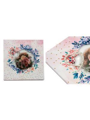 Фоторамка Весенний букет Русские подарки. Цвет: белый